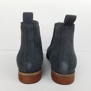 1c7b001a Toms Shoes | Ella Gray Suede Chelsea Boots Booties 8 | Poshmark